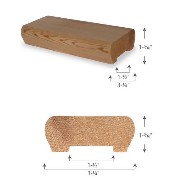 Designer Handrail — 2x4