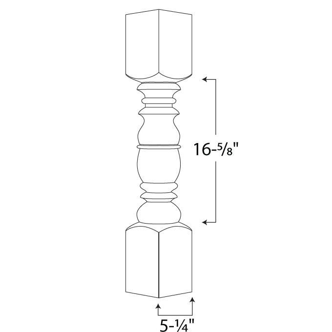 Gurnee Spindle — 6x6