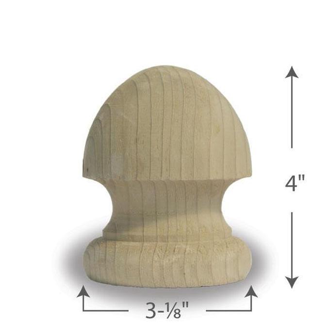 Mushroom Finial — 4