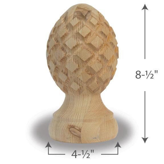 Pineapple Finial — 6