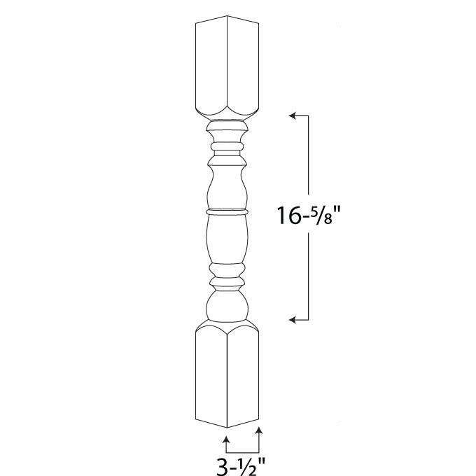 Gurnee Spindle — 4x4