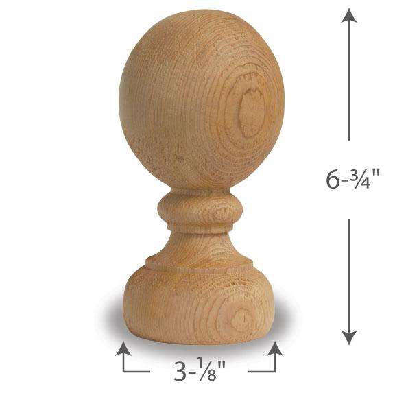 Colonial Ball Finial — 4
