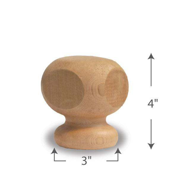 Contemporary Finial — 4