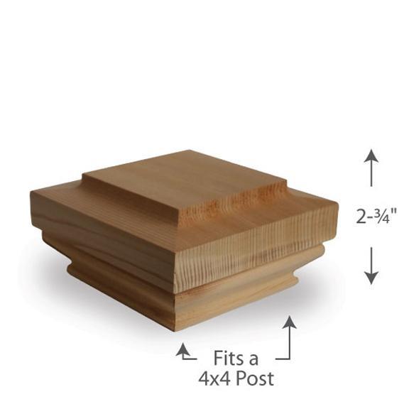 Hatteras Post Cap — 4x4