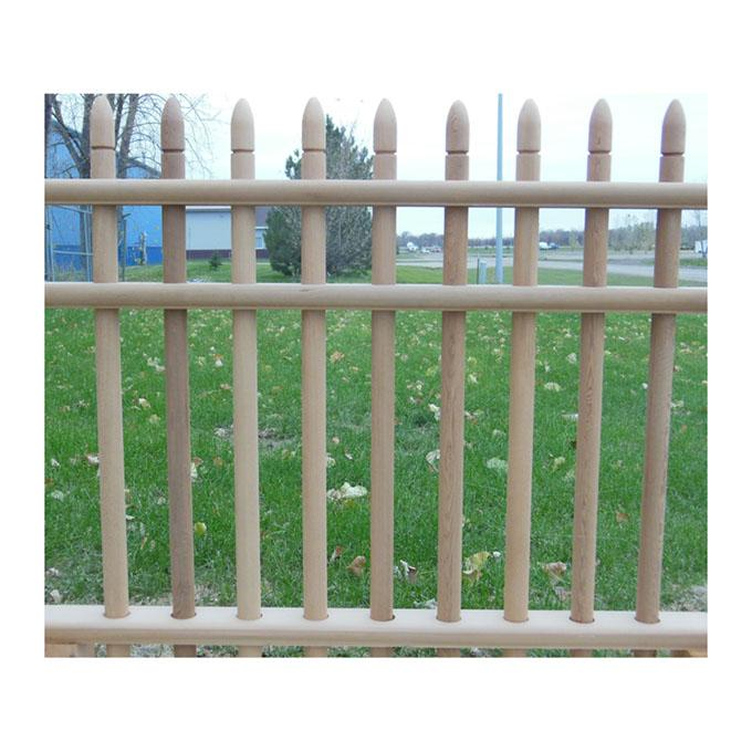 cedar fence picket bullet nose