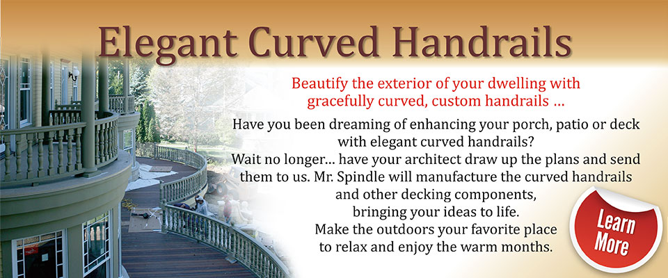 Curved-Handrailing